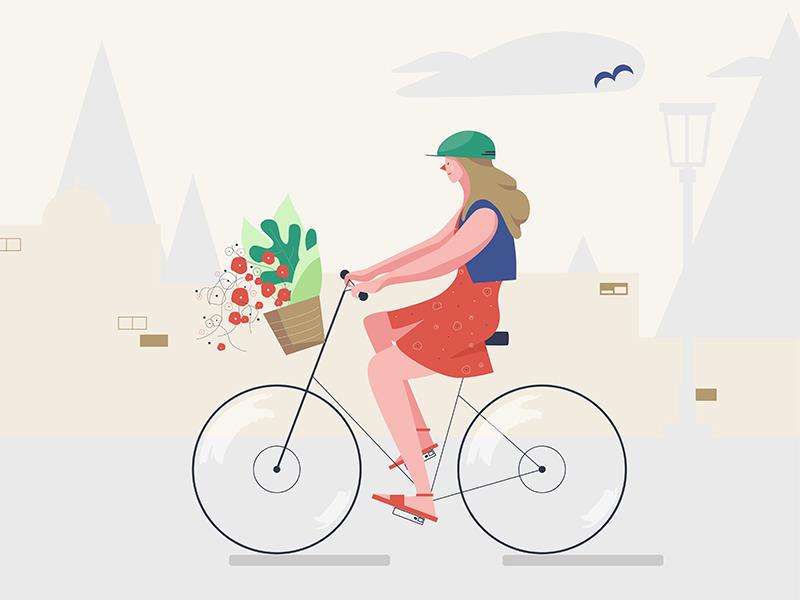 Bicycle 1 bicycle illustration