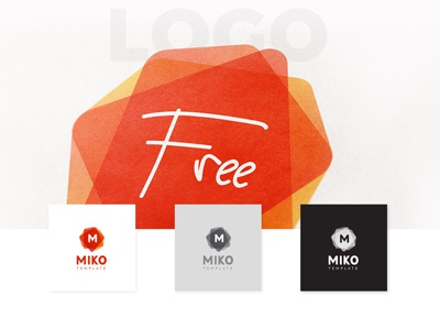 MIKO - FREE Customizable Logo, Pattern and Stationery letterhead patterns branding stationery free