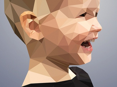 Hanne Low Poly poly low