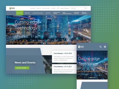 Citac lab innovation construction technology web development website ui ux digital design