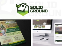 SolidGround Logo, Flyer and Web