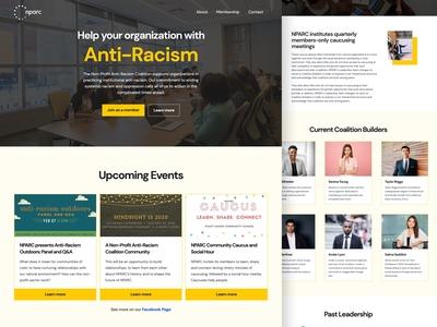 Non-Profit Website Redesign – NPARC Seattle