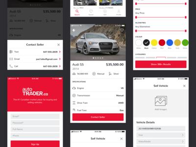 autoTRADER App Redesign