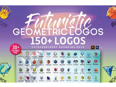 Futuristic & Geometric Logos