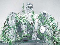 Lincoln Illustration for StarTribune