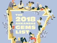 Arkansas Gems Poster