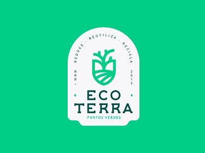 Eco Terra | Branding eco-friendly ai illustrator mark logo brand branding recycle eco