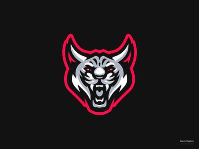 Wild Cat identity ide esport sport logotype illustration mascot logo cat wild branding caelum