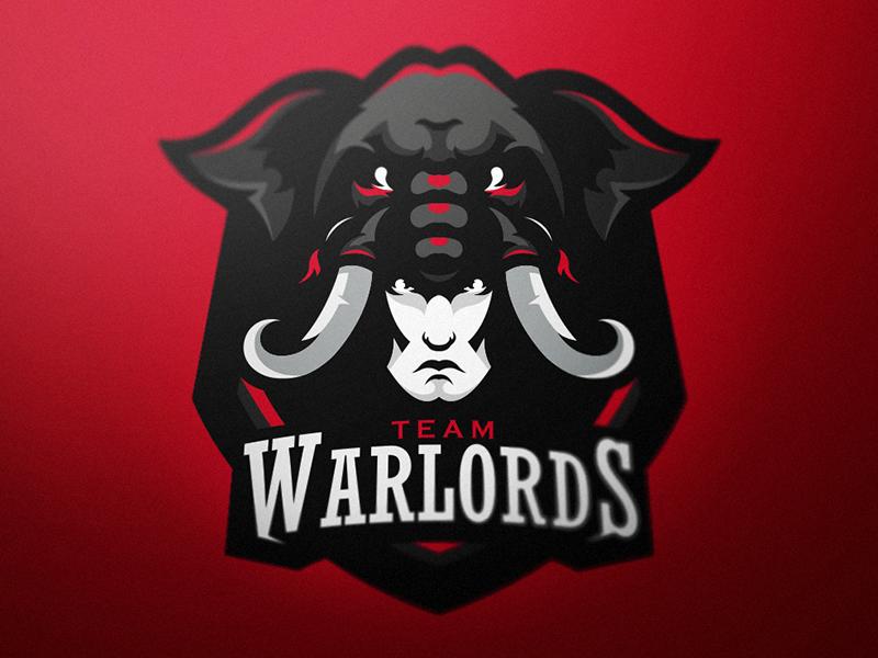 Warlords caelum branding logotype identity sport esport mascot logo