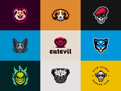 Best 9 Shots of 2018 sport esport branding identity logotype best shots illustration logo mascot caelum