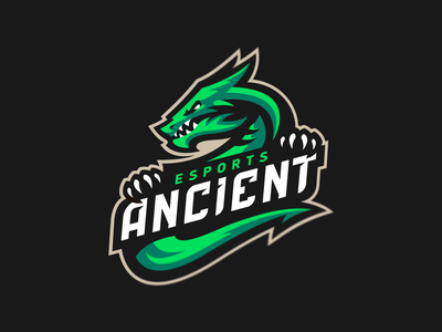 Ancient design icon vector illustration hiwow logotype sport esport branding mascot logo identity caelum