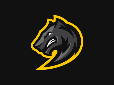 Warg design vector icon animal illustration logotype sport esport branding mascot logo identity caelum