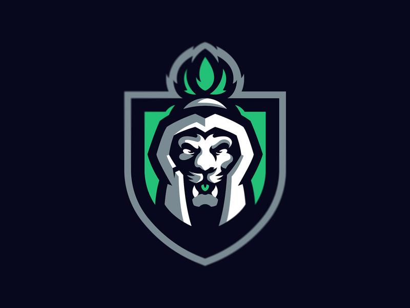 Spartan Lion sports esports spartan vector animal icon illustration hiwow logotype sport esport branding mascot logo identity caelum