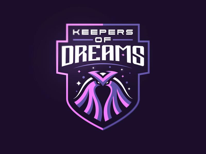 Keepers Of Dreams sports identity esports logotype sport esport mascot logo illustration branding caelum