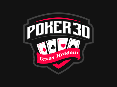 Poker 3D icon illustration logotype sport esport branding caelum mascot logo identity