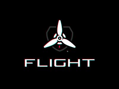 Flight vector icon logotype sport esport branding caelum mascot logo identity
