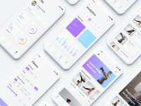 Run&Fit Fitness App UI Kit