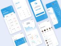 Simple Wallet App UI UX Kit
