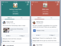 Yammer iOS App Changes