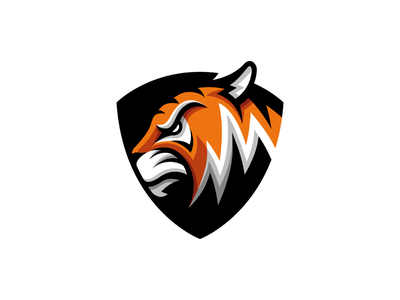 Tiger Logo mascot logo branding illustration logo mark designbymatt grafisk design logotyp logo design animal vector mascot tiger logo logotype logo