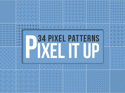 34 Pixel Patterns pixel patterns repeating pattern photoshop pat
