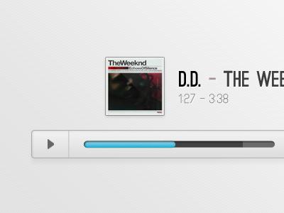 jPlayer Audio Skin PSD + HTML