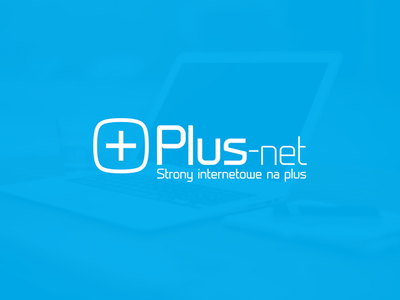 Plus-Net logo design
