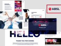 Presentation boards for ABSL