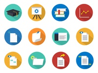 WriteLab Flat Icons