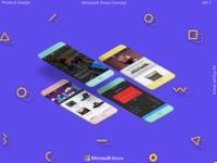 Microsoft Store App Concept