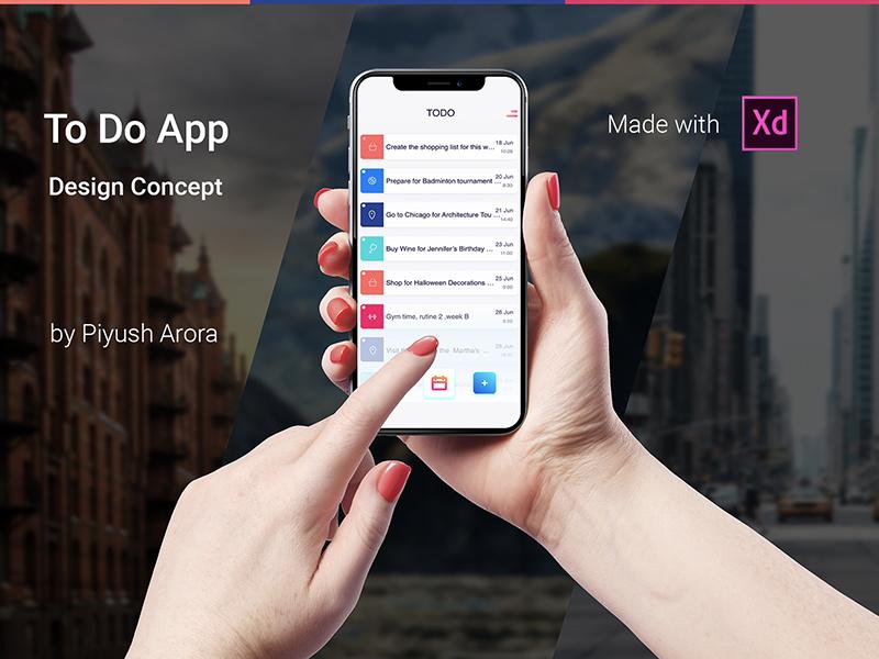 To Do App Design Concept to do product design ui ux