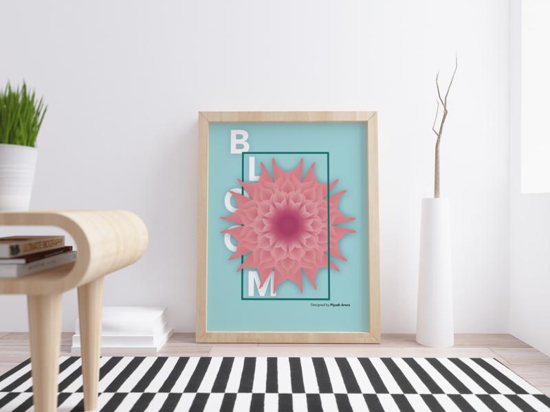 Bloom: Flower Illustration flower illustration illustration design visual art graphic art adobe photoshop illustration art bloom design flower illustration