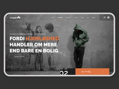 Sidespor - homeless campaign