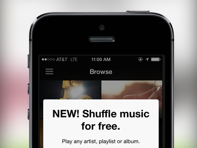 Spotify Mobile Free Tier