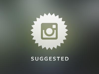 Instagram Suggested User Indicator