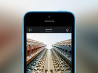 Adjust in app