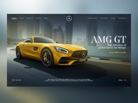 Mercedes AMG GT Landing Experience