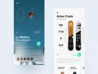 Snowboard App