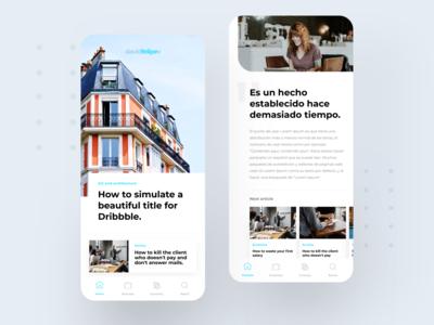 🗞Digital Newspaper App