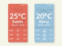 Weather App / 30 Days 30 UI Designs #2