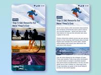 News Feed App / 30 Days 30 UI Designs #3