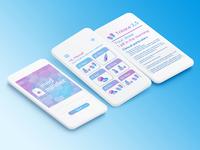 Medicaments Alert App / 30 Days 30 UI Designs #4