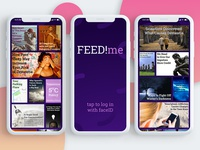 Articles Feed App / 30 Days 30 UI Designs #5