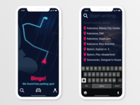 Parking Spot App / 30 Days 30 UI Designs #6