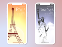 Weather App / 30 Days 30 UI Designs #9