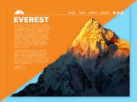 Everest / 30 Days 30 UI Designs #11