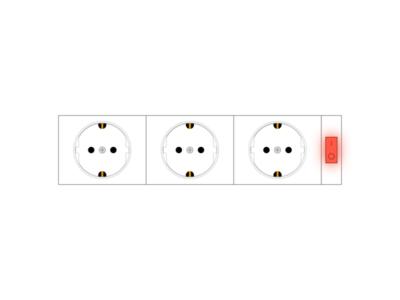 European socket illustration