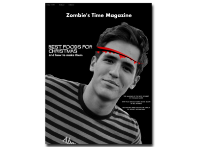 Zombie's Time Magazine - Best foods for Christmas