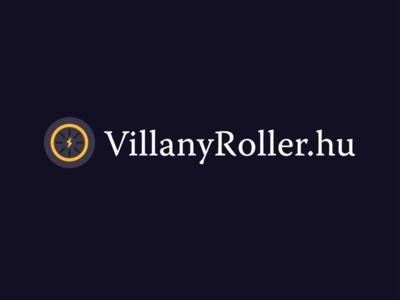 Villanyroller.hu - logo