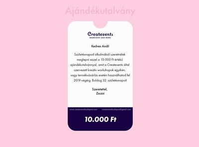 Createvents coupon